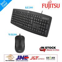 Paket Fujitsu Keyboard KE300 Dan Mouse WH300