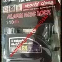 Jual PROMO MURAH Kunci Alarm cakram piringan depan motor gembok disk penga Murah
