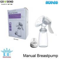 Real Bubee Manual Breastpump, Pompa ASI Murah Berkualitas BPA Free
