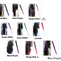 Jual Hair Clip Ombre Colour/ Highlight/Wig Fashion/Gaul Murah
