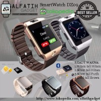 SMARTWATCH U9 DZ09 Original Gold Brown / Emas Coklat Black Smart Watch