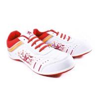 Sepatu Running Casual Sport TREKKERS Wanita M-Dania Putih/Merah Bata