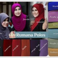 Jual Hijab Rumana Polos Murah