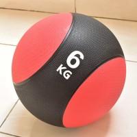 PREMIUM MEDICINE BALL 6KG - BOLA LATIHAN FITNESS BASKET BERAT 6 KG