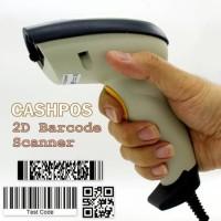 Jual CASHPOS 1D & 2D & QR High Quality Convenient Barcode Scanner FG2804 Murah