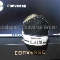 PRODUK BARU sepatu converse ORIGINAL Low Black ( reject Tangerang )