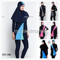 Jual Baju Renang Muslimah Premium Ukuran M, L dan XL Dewasa EFC-006 Murah