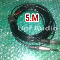 kabel Audio canare L2B2AT ori plus jack mini Stereo+ akai ke mixer