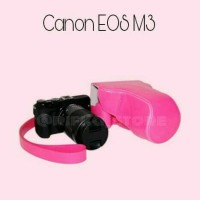 CANON EOS M3 LEATHER CASE CAMERA (TAS KAMERA MIRRORLESS)