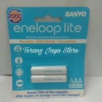 Baterai Sanyo Eneloop Lite AAA 600mAh Rechargeable Charge Battery A3