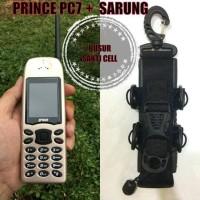 harga Prince Pc7 + Sarung Hp Outdoor (2 Antena, 10.000 Mah, Power Bank) Tokopedia.com