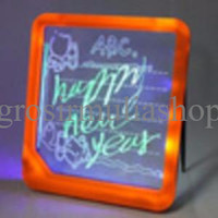 Jual TERBATAS LED Writing Board / Papan Tulis LED (Only Battery) MURAH MERI Murah