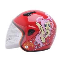WTO Helmet Kids Kop Little Horse Helm Anak - Merah
