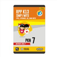 ANIMUS  RPP K13 KELAS 7  PKn  REVISI 2017