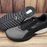ORIGINAL PUMA IGNITE DUAL BREATHE Sepatu Running Pria Hitam / Putih