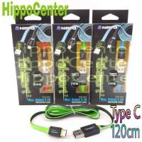 Jual Hippo Kabel TELEPORT 2 TYPE C 120CM Fast Charging kabel data tipe C Murah