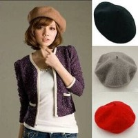 topi baret/Topi baret wanita import/topi cewek