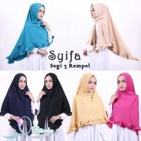 Segitiga Khimar Rempel Original Syifa / Jilbab / Kerudung