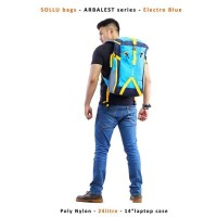 harga Arbalest Electro Blue Sollu Bags Backpack Ransel Travelling Tas Keren Tokopedia.com