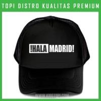 Topi Real Madrid 8 Trucker Baseball Snapback RMD08 Distro