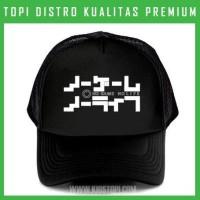 Topi Games 09 Trucker Baseball Snapback III68 Distro