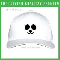 Topi Panda 7 Trucker Baseball Snapback PND07 Distro