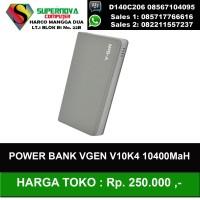 Jual  Power Bank V-gen V10K4 10400mAH Murah