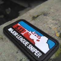 patch rubber major league sniper tactical