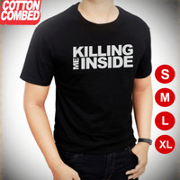 Kaos killing me inside - kaos band - kaos distro - kaos combed