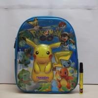 Tas ransel Pokemon biru 6811