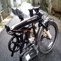 "100% KUALITAS TERBAIK Sepeda Lipat Polygon 20"" URBANO 3.0 Seri PA"
