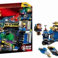 LEGO BELA 10241 Super Heroes New Styles HULK LAB SMASH