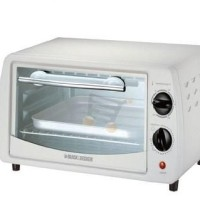 Toaster Oven 9 Liter 800 Watt Black & Decker - TRO1000B5