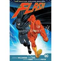 Batman Flash The Button Deluxe Ed HC (Rebirth) Lenticular - JUN170380