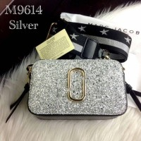 Marc Jacobs Snapshot Sequin Camera Bag - Silver - M9614