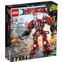 LEGO Ninjago Movie-70615 Fire Mech Set Ninja Kai Samurai Robot Kid Toy