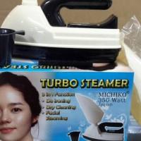 Alat uap wajah spa wajah face steamer Setrika wajah Turbo steamer