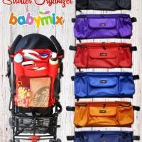 Babymix Stroller Organizer - Purple
