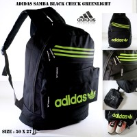 harga Tas Ransel Adidas Samba Black Check Greenlight Free Rain Cover Tokopedia.com
