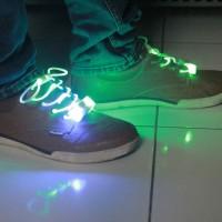 Jual tali sepatu nyala lampu led shoelace break dance dugem grosir murah Murah