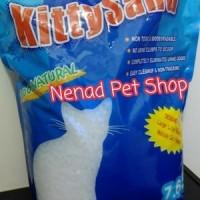 pasir kucing kristal 7.6 liter merk kitty sand