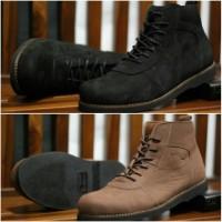 D3898 Sepatu boot kulit  OCEAN Brodo kulit  se KODE RR3898