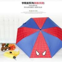 Jual Promo Payung Karakter unik Payung Lipat SPIDERMAN- SUPER HEROES - Murah