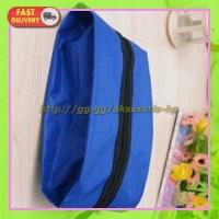 Tas Sepatu Travel Waterproof - Blue