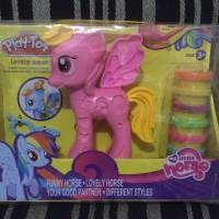 PlayDoh My Little Pony Rainbow Dash Style Salon