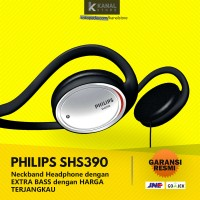 PHILIPS SHS390 Neckband On-Ear Original Headphones - Bass Headset
