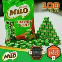 Milo Nestle Energy Cube Isi 100 Pcs