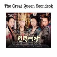 DVD Drama Korea The Great Queen Seondeok