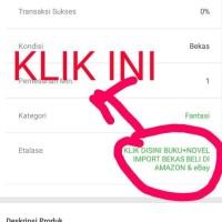 BUKU+NOVEL BAHASA INGGRIS-IMPORT KLIK ETALASE SEPERTI DI GAMBAR