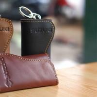 gantungan kunci dompet stnk mobil suzuki / ignis / ertiga /splas kulit